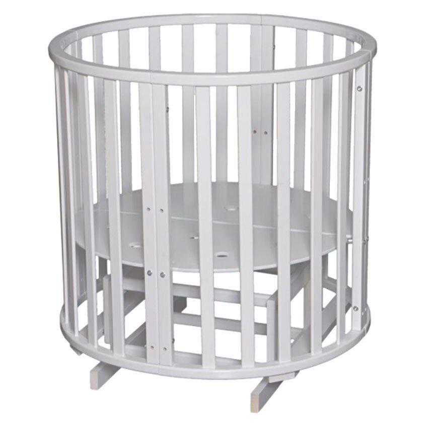 Круглая кроватка антел
