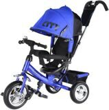 "Велосипед Trike CITY JD7BS 10"" и 8"" ПВХ Синий"